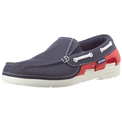 f37299feb5f2 Crocs Juniors Beach Line Hybrid Boat Shoes