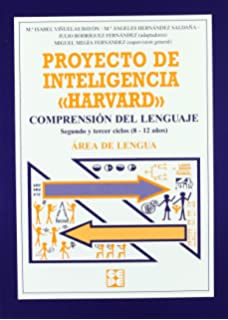 Proyecto de inteligencia harvard. Primaria. Comprension del lenguaje (Programas Intervencion Educati) -