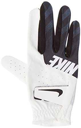 wholesale dealer b391e f18b4 Nike Sport Gant de Golf (Standard Droite) Homme, White Black, M