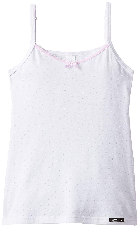 Skiny CottonDream/Girls Spaghettishirt, Canotta per bambine e ragazze bianco (bianco (white 0500)) 14 anni (164 cm) 036125