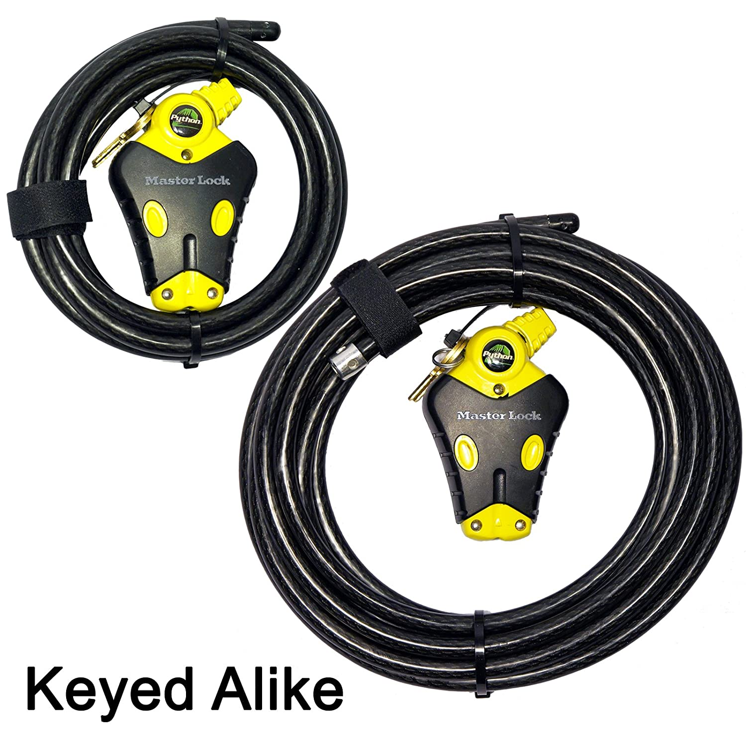 Master Lock 8417D Python Adjustable Locking Cable 6-Foot