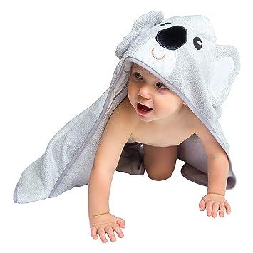 44d095becf Amazon.com   Hooded Baby Bath Towel - Cute