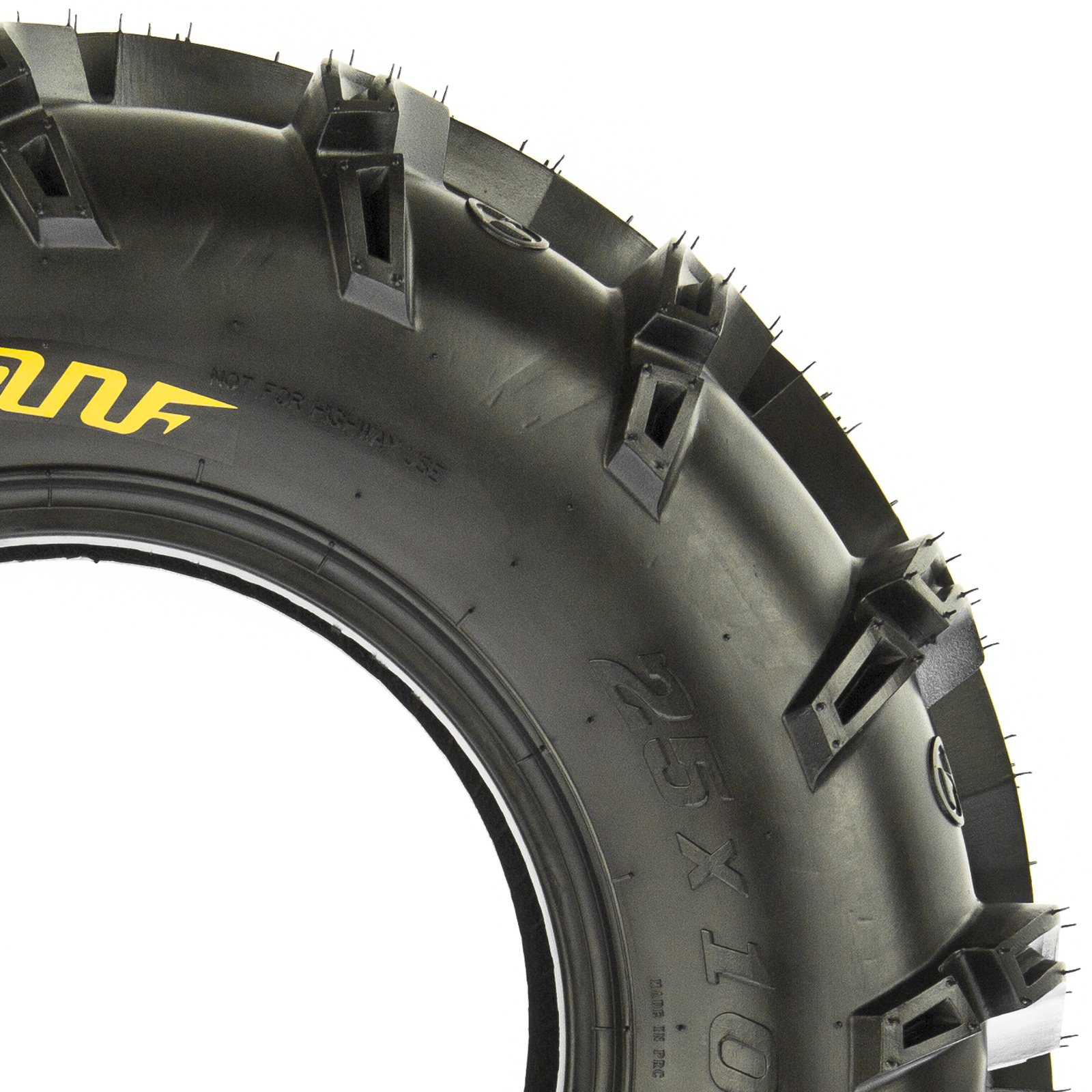 SunF A050 AT Mud & Trail 25x11-10 ATV UTV Tires, 6PR, Tubeless by SunF (Image #9)