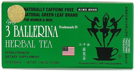 3 ballerina dieters tea extra strength