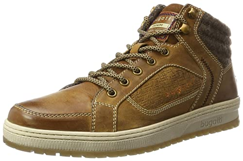 Mens 322284301214 Trainers, Brown Bugatti