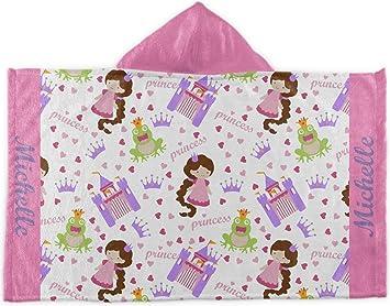 Princesa Print con capucha toalla (personalizado)