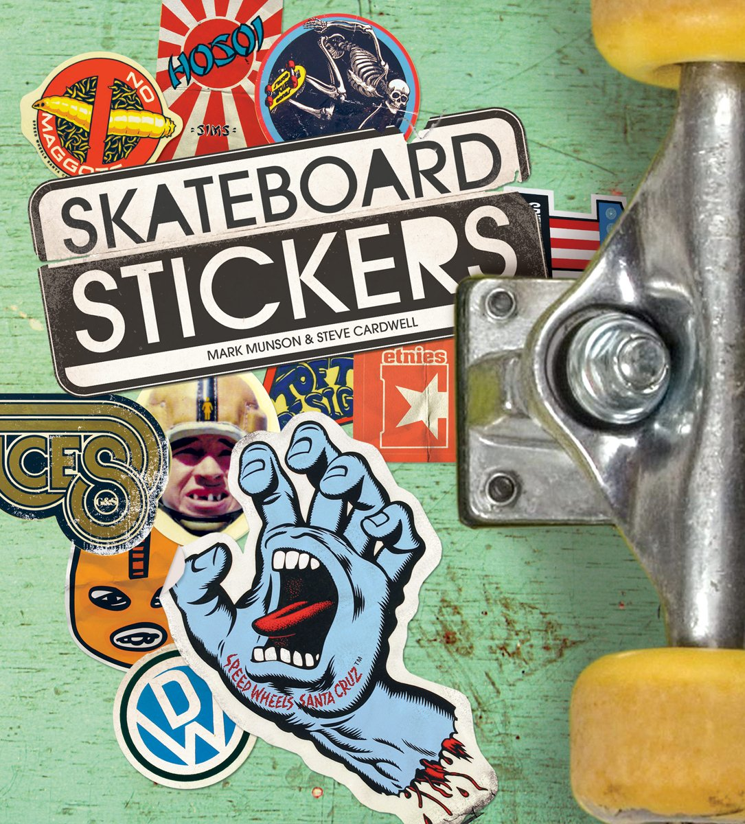 Skateboard stickers amazon co uk steve cardwell 9781856698863 books
