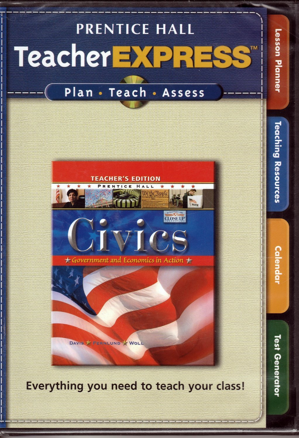 Teacher Express for Civics, Government and Economics in Action: Amazon.com:  Books