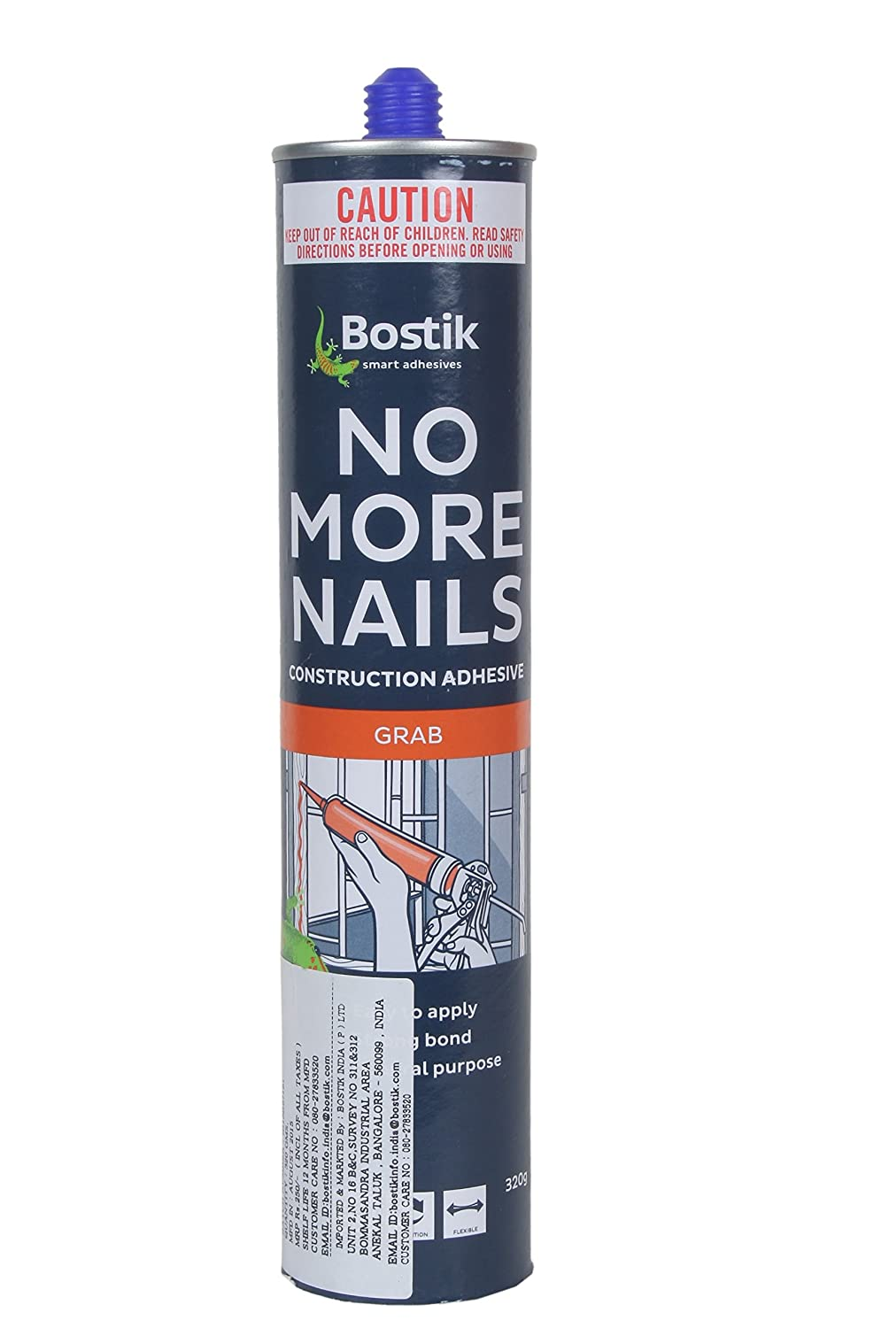 BOSTIK NO MORE NAILS , 320 GMS CATRIDGE: Amazon.in: Industrial ...