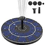 Viajero Latest Upgrade 2.5W Solar Fountain Pump for Bird Bath with 800mAh Battery Backup, Free Standing Portable…