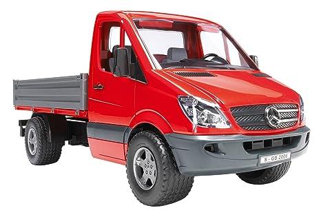 Bruder 02530 - Mecedes Benz Sprinter con plataforma de carga