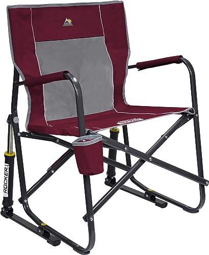 GCI Outdoor Freestyle Rocker Portable Folding Rocking Chair, Cinnamon Renewed