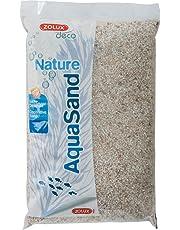 Zolux ghiaia naturale per acquario quarzo bianco di 1a 3mm di granulométie–5kg