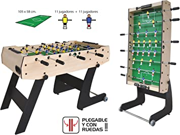 ACTIVE Futbolin Plegable Super-S F2201: Amazon.es: Juguetes y juegos
