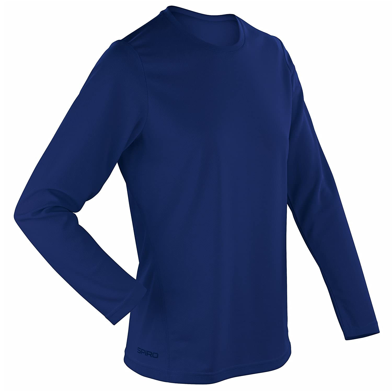 Spiro Ladies/Womens Sports Quick-Dry Long Sleeve Performance T-Shirt