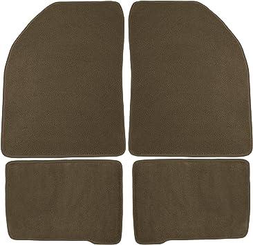 Nylon Carpet Black Coverking Custom Fit Floor Mats for Dodge Journey