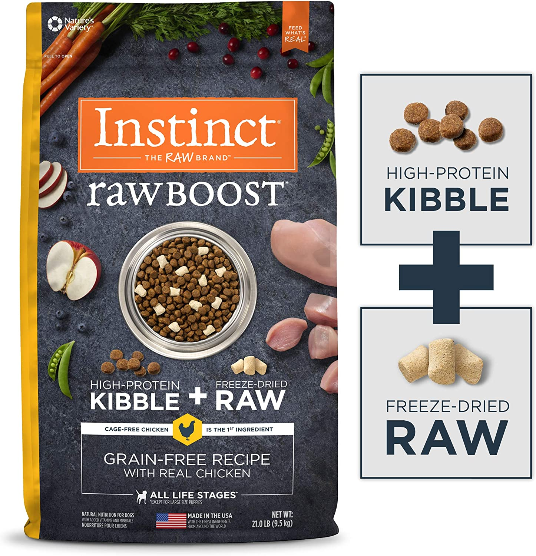 Instinct Raw Boost Natural Dry Dog Food, Chicken