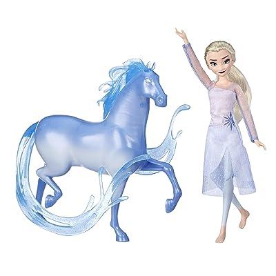 Disney Frozen Elsa Fashion Doll & Nokk Figure Inspired by Frozen 2: Toys & Games