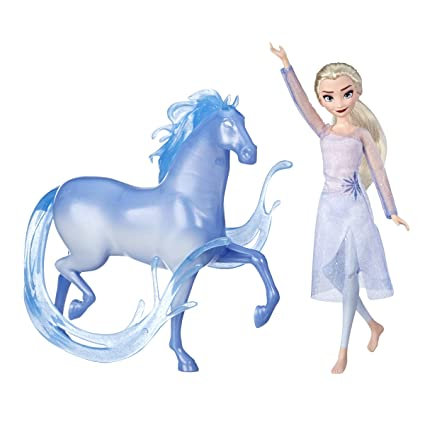 Amazon.com: Disney Frozen Elsa Fashion Doll & Nokk Figura ...