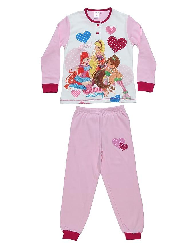 Warner Bros Pijamas Caramella de 4 Años, Diseño de Winx: Amazon.es: Ropa y accesorios