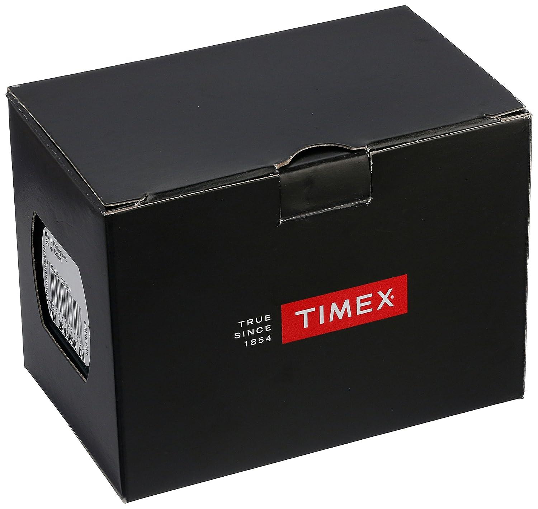 Timex Ironman Mens 100 - Reloj para Hombre, Color Negro/Amarillo Highlights: Timex: Amazon.es: Relojes