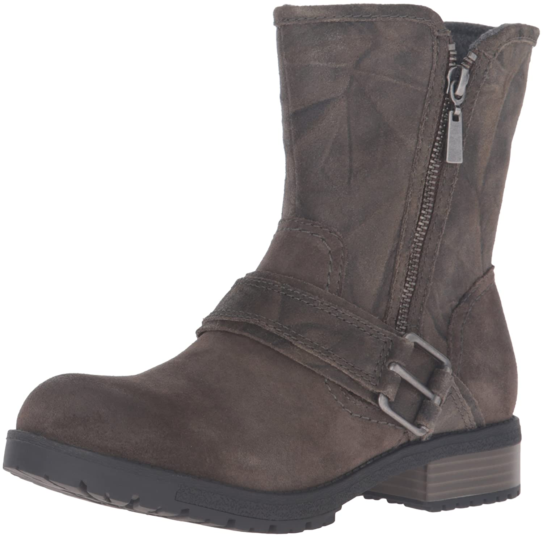 CLARKS Women's Faralyn Rise Boot B0198WAVXQ 7 B(M) US|Khaki Suede