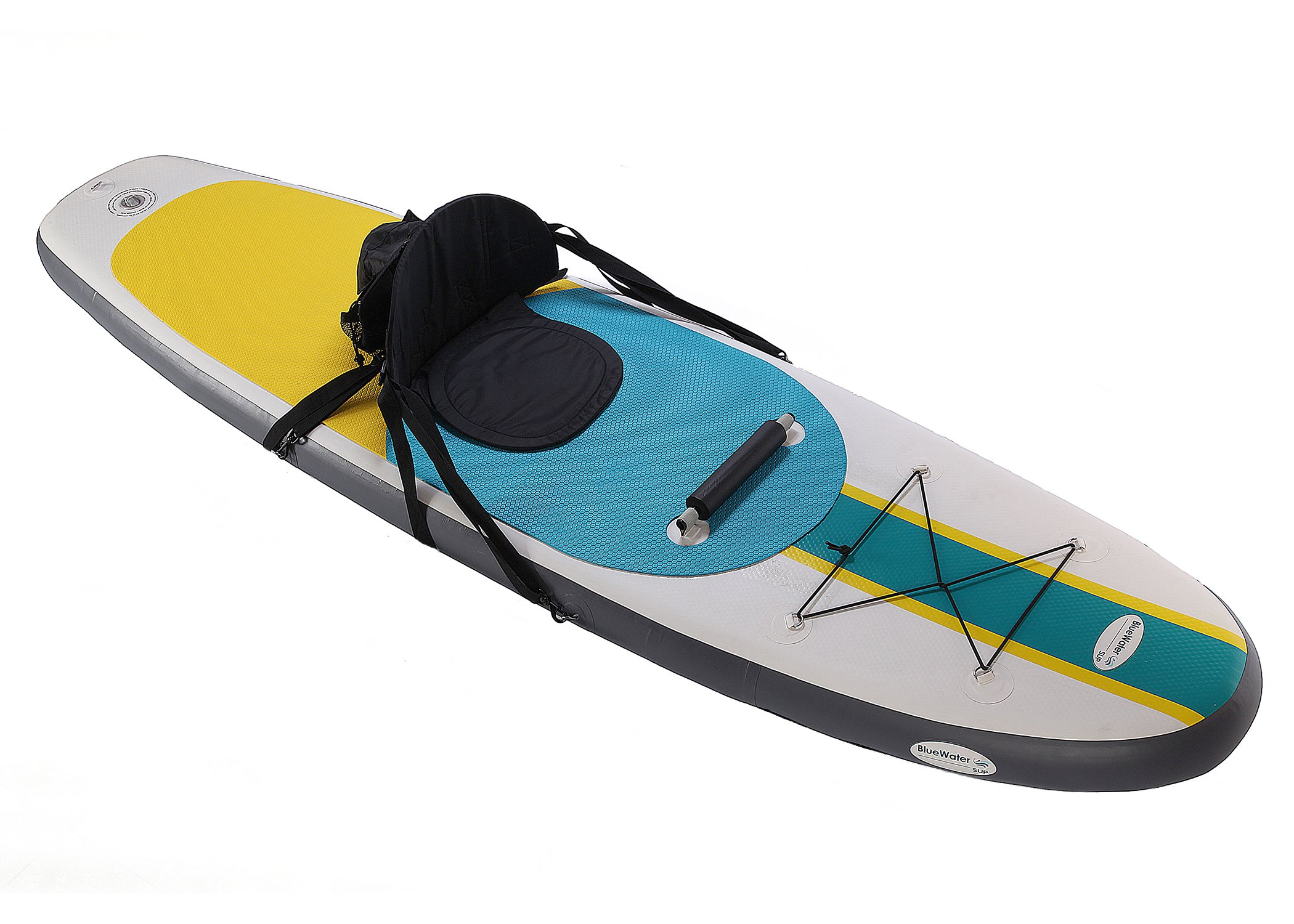 Blue Water Toys BW-COSUP 10326 Inflatable SUP/Kayak, 10' by Blue Water Toys
