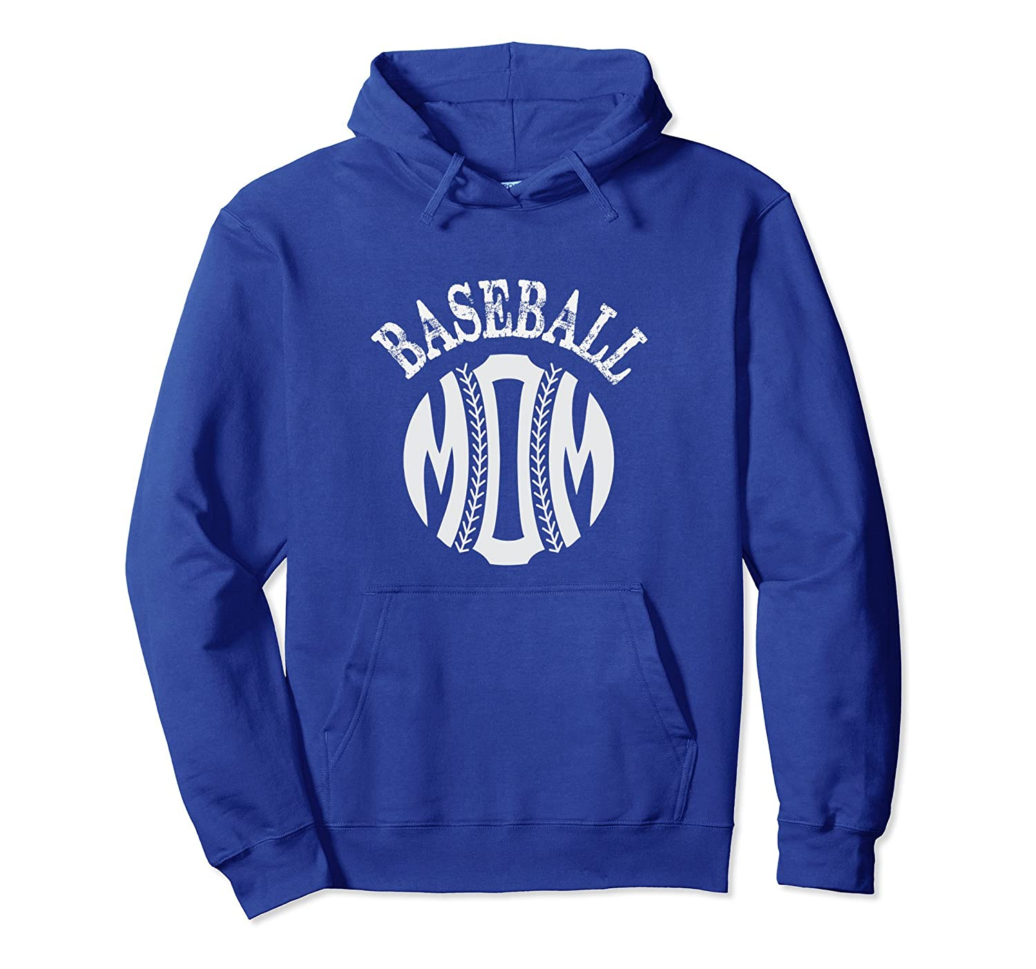 Baseball Hoodie for Mom Baseball Mother's Day Gift tshirt-TH