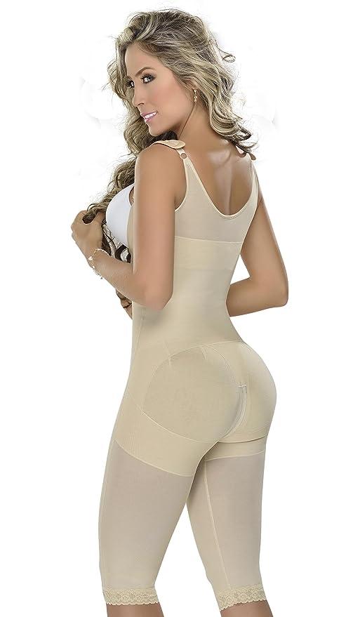MYD 0078 Fajas Colombianas Reductoras Post Surgery Girdle Shapewear Bodysuit at Amazon Womens Clothing store:
