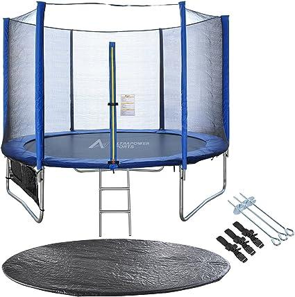 Ultra Power Sport cama elástica de jardín Jumper 244 cm 305 cm trampolín 366 cm exterior