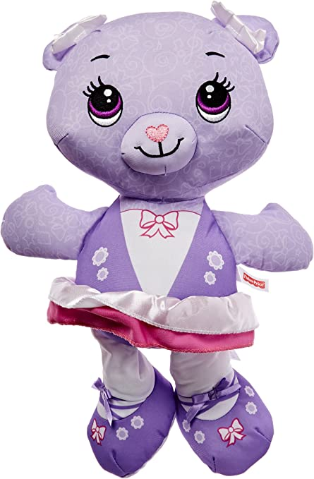 Brittany Stuffed Animal, Amazon Com Fisher Price Doodle Bear Violet Toys Games