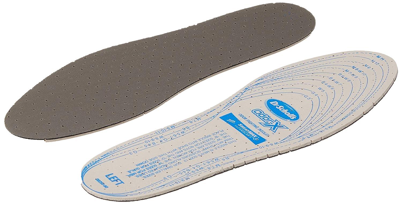 Plantillas ortop/édicas de piel contra sudor para hombre y mujer ORTRI Talla 35 Plantillas antisudor 46