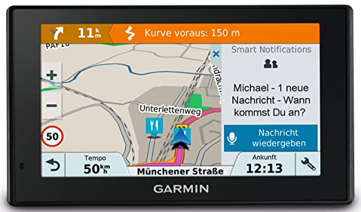 """22 opinioni per Garmin Drivesmart 51 EU LMT-S- Navigatore 5"""" Smart, Mappa Europa Completa,"""