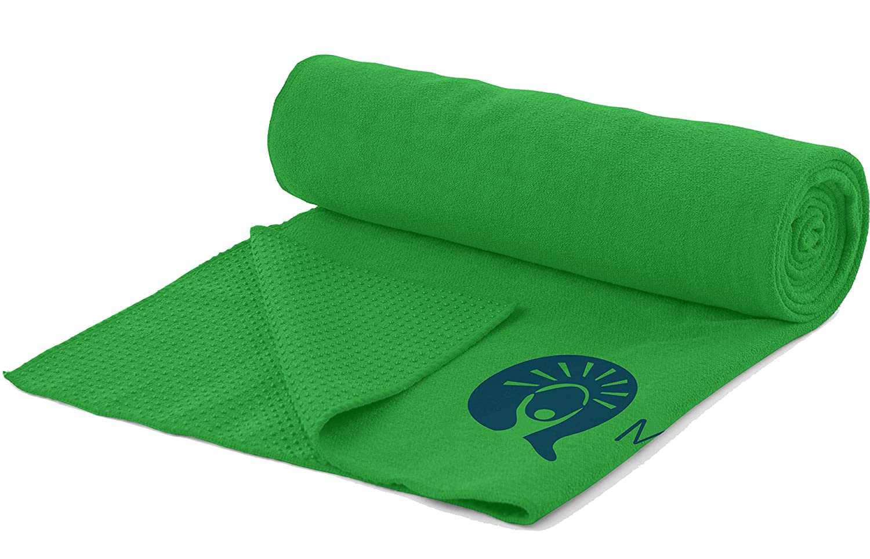 myquest Bikram Yoga - Toalla de microfibra antideslizante ...