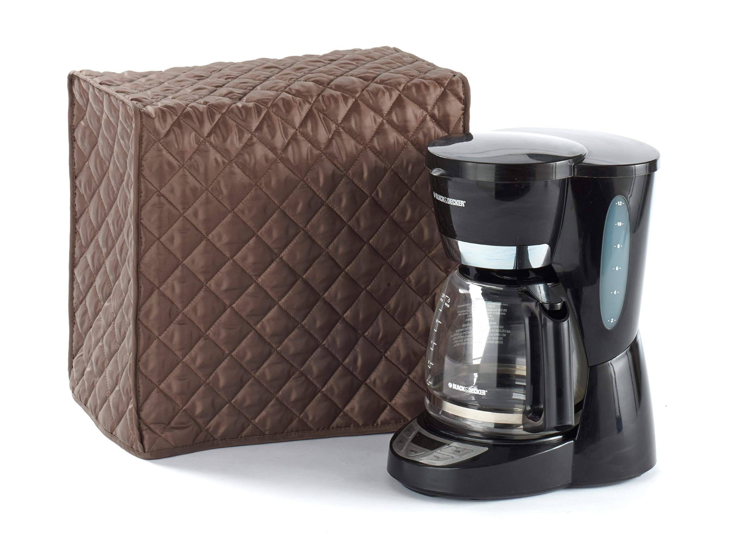 CoverMates – Coffee Maker Cover – 11W x 9D x 15H – Diamond Collection – 2 YR Warranty – Year Around Protection - Bronze