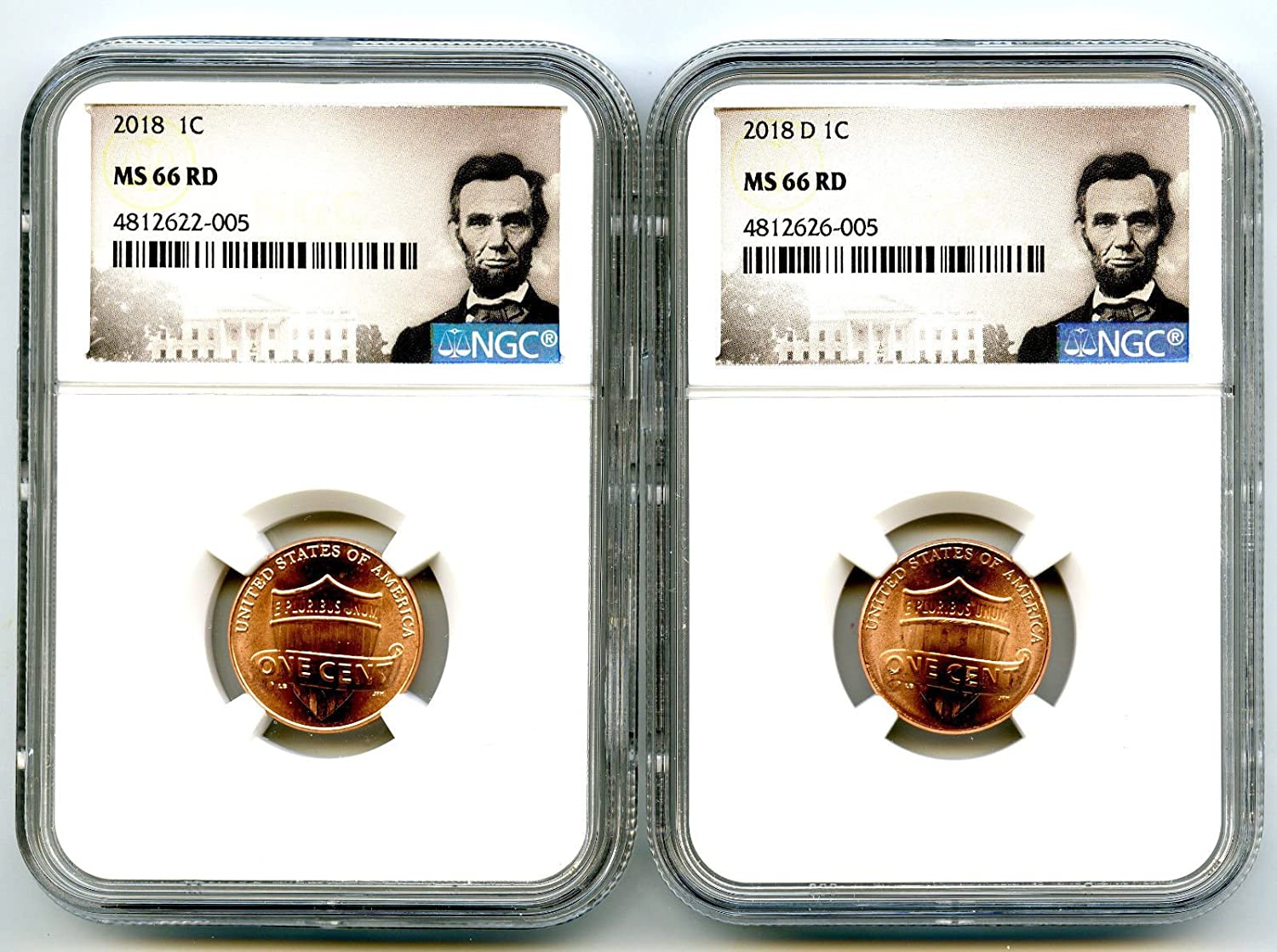 2017P Lincoln shield cent NGC MS66 RD