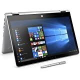"HP Pavilion x360 14-ba021nl Notebook Convertibile, Pentium 4415U, RAM 8 GB, SSD M.2 128GB, Scheda Grafica Intel HD 610, Display 14"", Argento Naturale [Layout Italiano]"