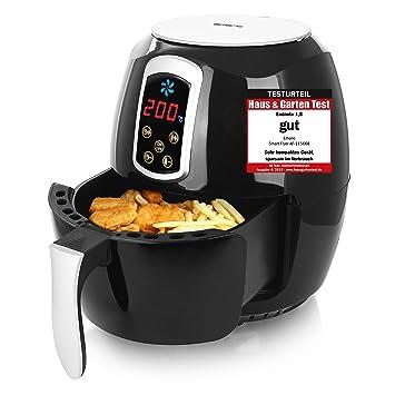 Amazon De Emerio Heissluftfritteuse Airfryer Smart Fryer Test