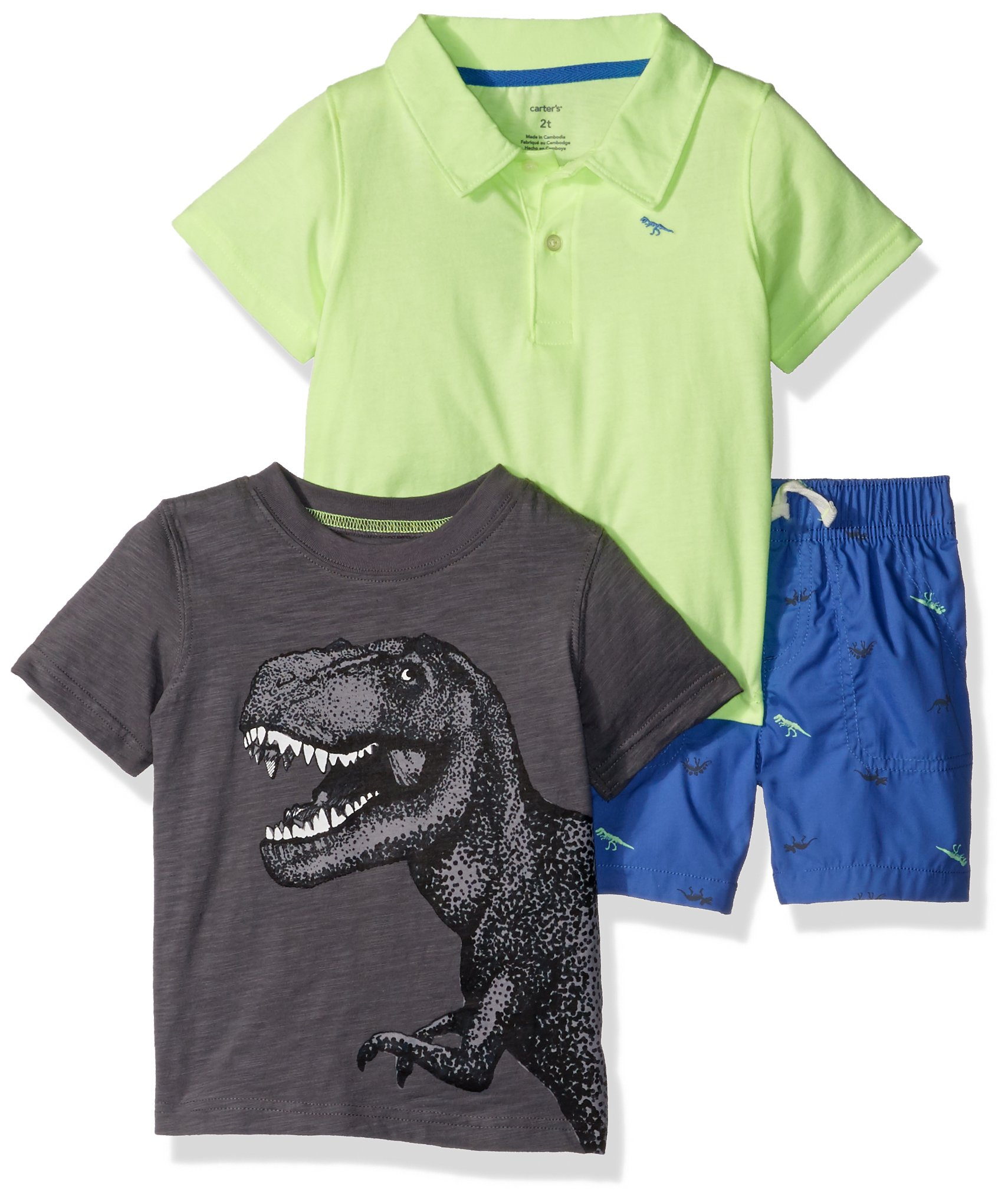 Carter's Boys' Toddler 3-Piece Playwear Set