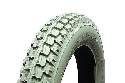 Cheng Shin TG12C628 12 1 Primo - Neumático para sillas de ruedas y motos para personas con movilidad reducida (2 unidades), color gris: Amazon.es: Salud y ...