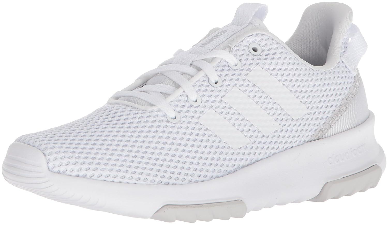 adidas Originals Women's Cf Racer Tr W Running Shoe B071Z6YYN8 7.5 B(M) US|White/White/Matte Silver