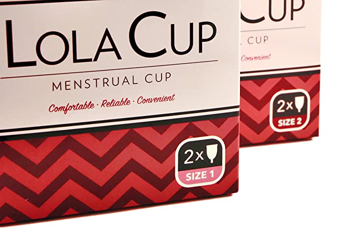 Set de 2 Copas Menstruales - Silicona 100% de grado médico, Certificado CE - Copa Menstrual Lola Cup Talla 1&2 (Combo): Amazon.es: Salud y cuidado personal