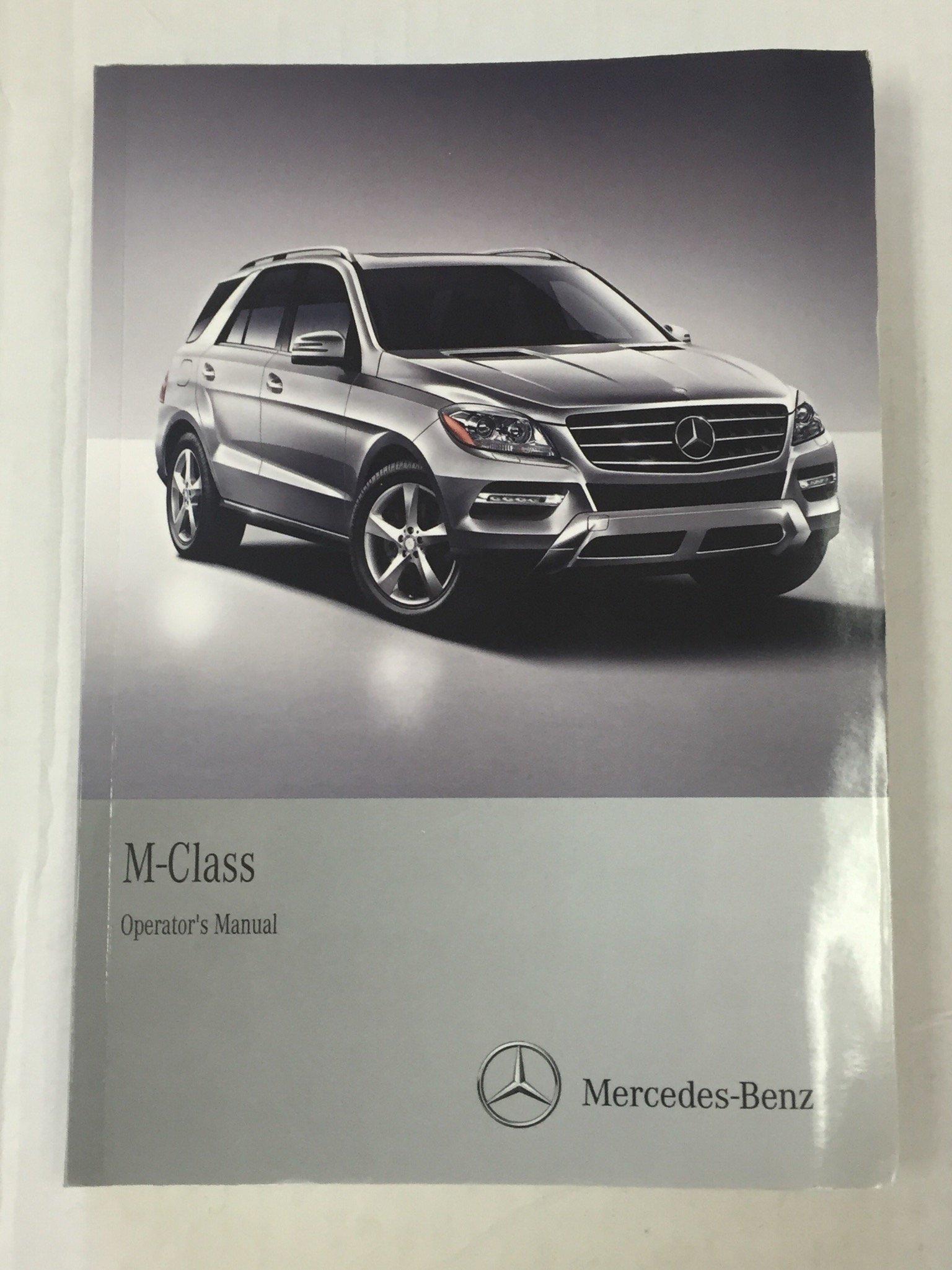 2012 mercedes m class owner s manual set w comand mercedes benz rh amazon com datamax m class manual datamax m class 4210 manual