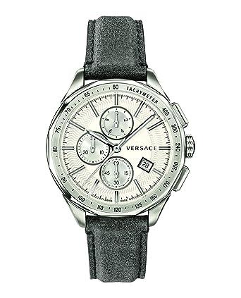 b58255f3cc9e Versace VEBJ00118 Glaze Montre chronographe pour Homme  Amazon.fr ...