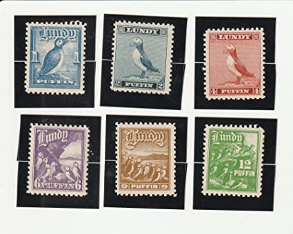 Amazon com: The Stamps Of Lundy Island-and the Strange Story
