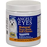 Angel's Eyes NATURAL Tear Stain Prevention Soft Chews for Dogs - 120 Ct - Chicken Formula (AENSC120D)