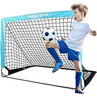 Happy Jump Soccer Goal Kids Pop Up Foldable Soccer Net for Backyard 4'x3', 1 Pack