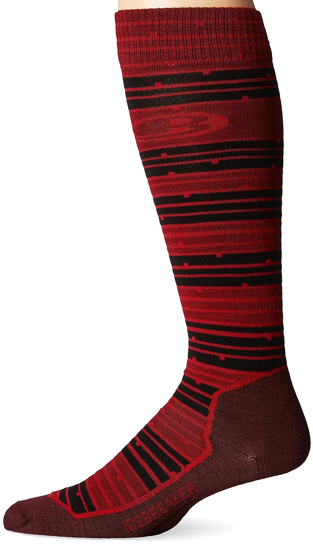 Icebreaker Herren Ski Plus Ultra Light OTC Zahn Streifen Socken