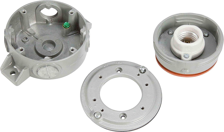10W Explosion Proof LED Light Fixture NEMA 4 C1D2-1050 Lumens Aluminum Body