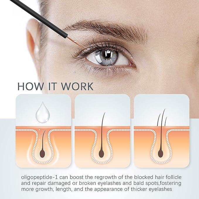 Liberex Eyelash Growth Serum Eye Lash Enhancer Treatment With
